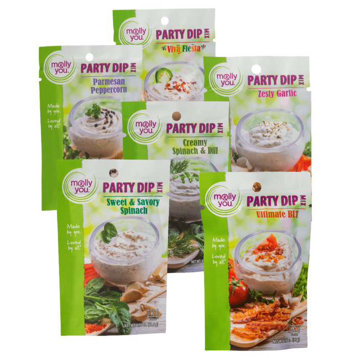 Multi-Party Dip 6 Pack