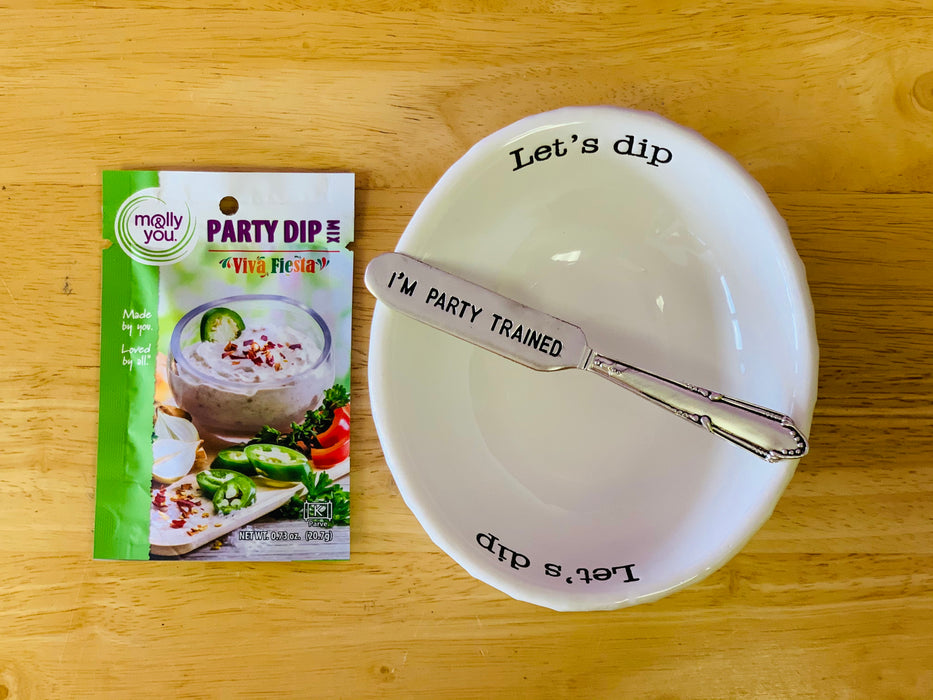 Let's Dip Party Gift Set