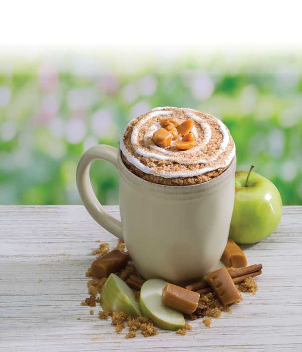 Caramel Apple Cinnamon Microwave Muffin Single: 3-Pack