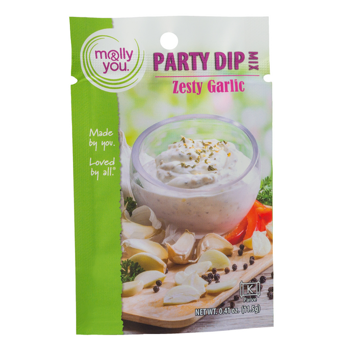 Zesty Garlic Party Dip Mix