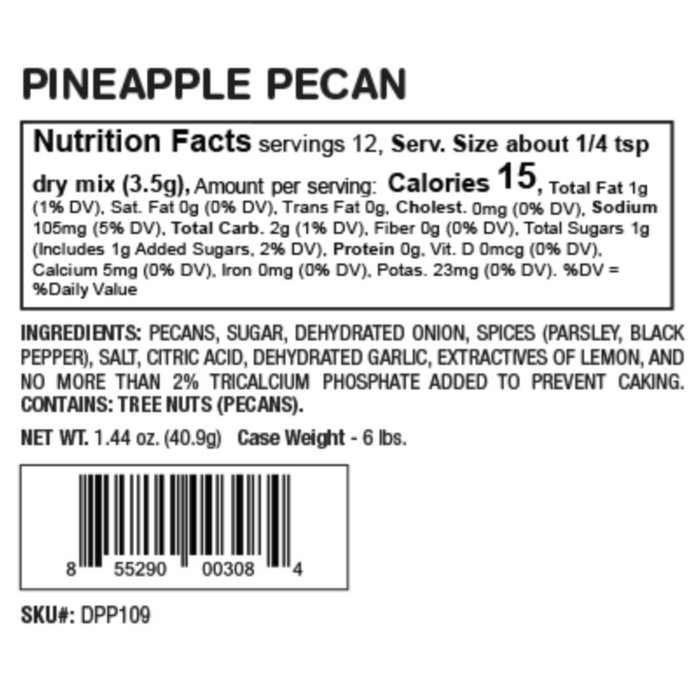 Pineapple Pecan Party Dip Mix