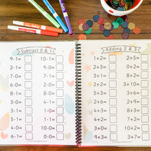 Load image into Gallery viewer, Addition + Subtraction Math Facts Printable Workbook