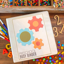 Load image into Gallery viewer, Preschool Busy Binder Printable Starter Kit - Arrows And Applesauce