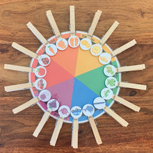 Load image into Gallery viewer, Preschool Color Matching Printable Wheel - Arrows And Applesauce