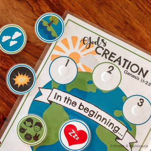 7 Days Of Creation Printable - Arrows And Applesauce