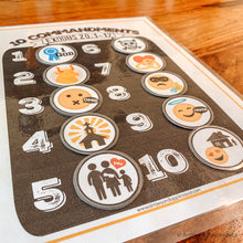 Load image into Gallery viewer, Ten Commandments Printable Memory Game - Arrows And Applesauce