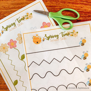 Spring Time Printable Activity Bundle - Arrows And Applesauce