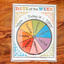 Load image into Gallery viewer, Days Of The Week Printable Wheel - Arrows And Applesauce