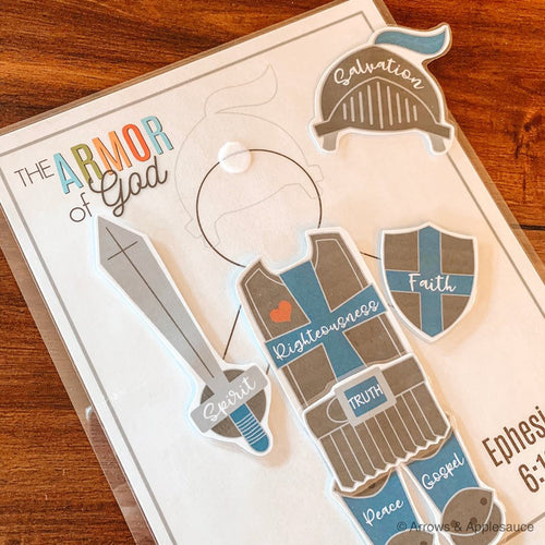 Armor Of God Printable Activity - Arrows And Applesauce