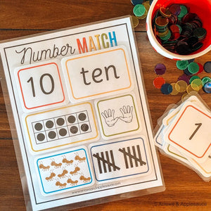 Numbers 1-10 Sorting & Counting Activity - Arrows And Applesauce