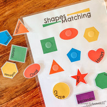 Load image into Gallery viewer, Shapes Activities Printable Bundle - Arrows And Applesauce