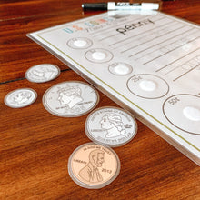 Load image into Gallery viewer, U.S. Coins Printable Activity BUNDLE - Arrows And Applesauce