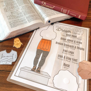 Daniel 2 Printable Statue Activity & Study - Arrows And Applesauce