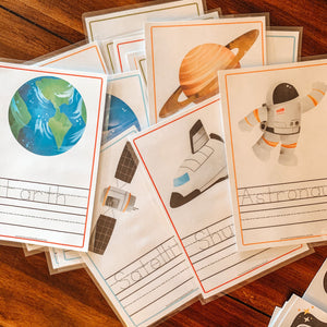 Space Unit Study Printable Bundle - Arrows And Applesauce
