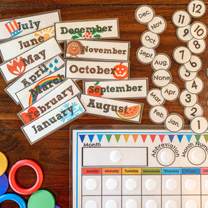 Perpetual Classroom Calendar - Arrows And Applesauce