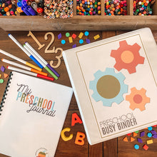 Load image into Gallery viewer, MEGA Preschool Bundle, Printable Pre-K Busy Binder & Journal - Arrows And Applesauce