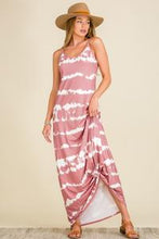 Load image into Gallery viewer, Coming Up Roses Tie Dye Maxi Dress