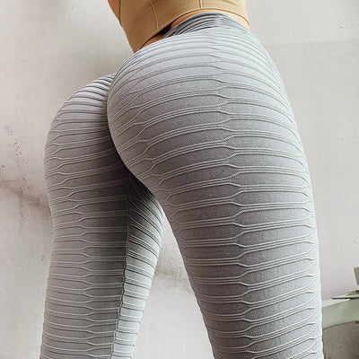 Sexy Grey Solid Color Leggings