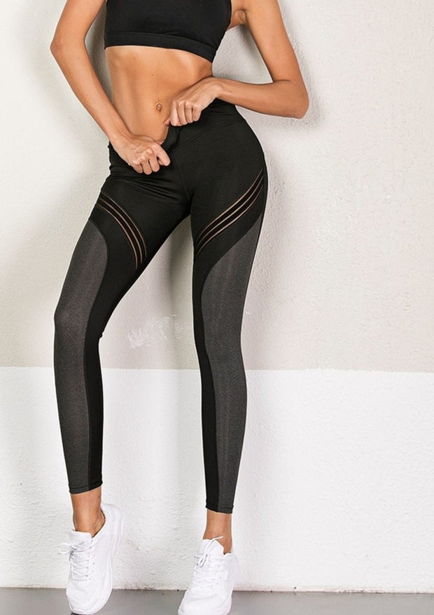 Mesh Leggings Active/ Yoga/Athleisure