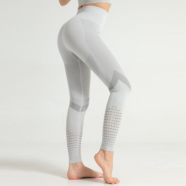 Seamless Push Up High Waist Athleisure Leggings
