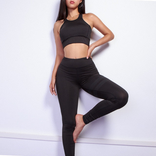 2 Piece Exercise Yoga Set