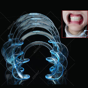 5pcs /set Dental Mouth Opener C Shape Mouth Gag Dental Orthodontic Tool Intraoral Cheek Lip Retractor Mouth Spreader Lip Opener