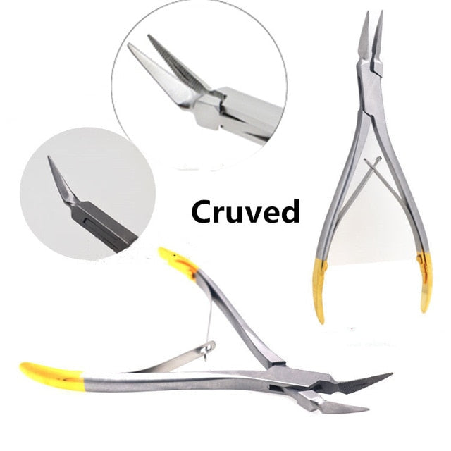 Dental Orthodontic Plier Band Removing Forcep bracket Brace remover plier,Weingart NITI wire back plier Dental instrument Tool