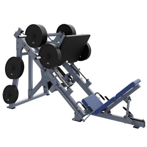 PLATE-LOADED LINEAR LEG PRESS