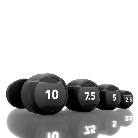 BLACK/GRAY STUDIO DUMBBELLS