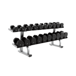 SIGNATURE SERIES TWO TIER DUMBBELL RACK