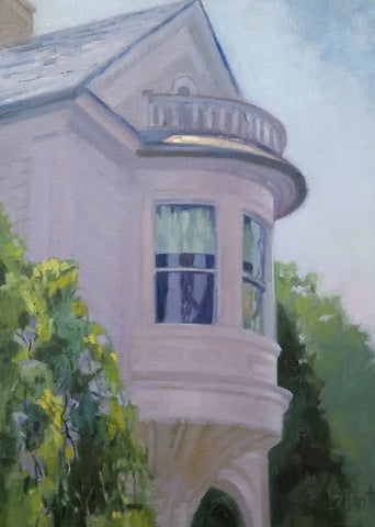 2 Meeting St. Turret in Shadow - Susan Trott