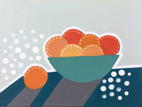 Bowl of Oranges IV- Cindy DeAntonio