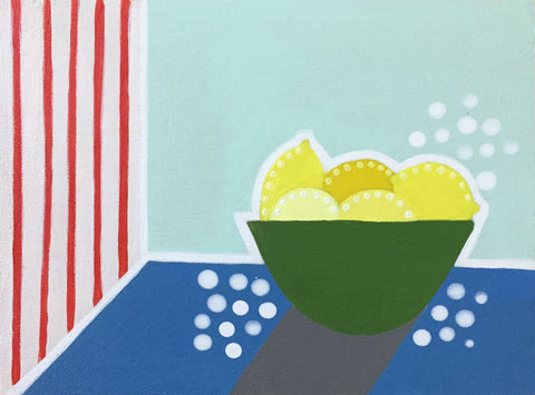 Bowl of Lemons II- Cindy DeAntonio