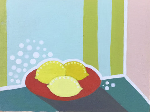 Plate of Lemons- Cindy DeAntonio