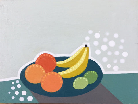 Plate of Mixed Fruit- Cindy DeAntonio