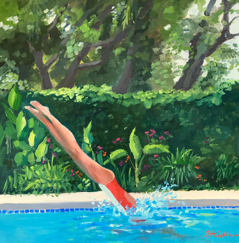 Afternoon Dip - Susie Callahan