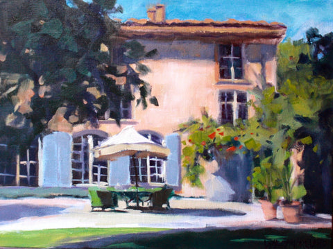 Afternoon at the Chateau - Susan Westmoreland