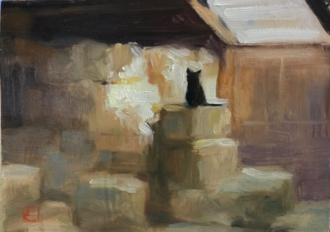Barn Cat- Lisa Gleim