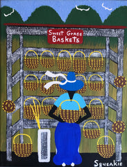 Basket Lady (Red Sign)