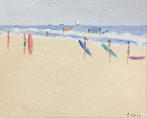 Beach Study #10 - Shannon Wood