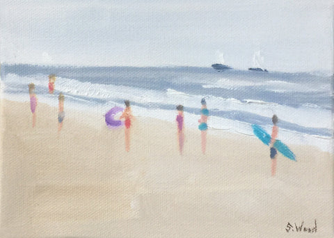 Beach Study #13 - Shannon Wood