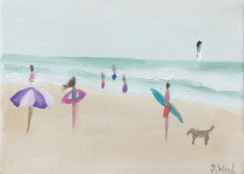 Beach Study #14 - Shannon Wood