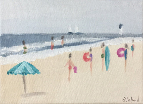 Beach Study #16 - Shannon Wood
