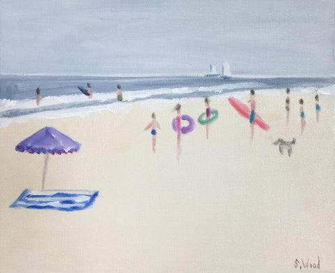 Beach Study #17 - Shannon Wood