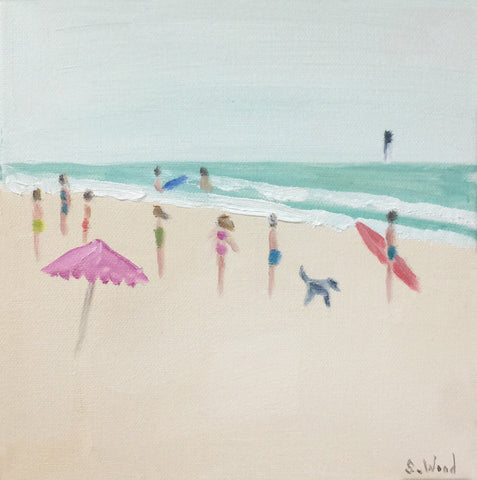 Beach Study #3 - Shannon Wood