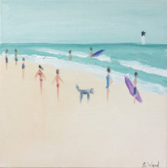Beach Study #4 - Shannon Wood