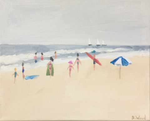 Beach Study #5 - Shannon Wood