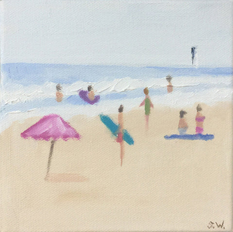 Beach Study #7 - Shannon Wood