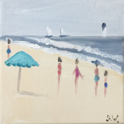 Beach Study #9 - Shannon Wood