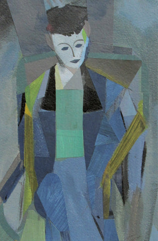 Blue Suit - Susan Trott